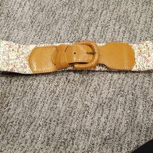 Aldo Floral Waist Belt